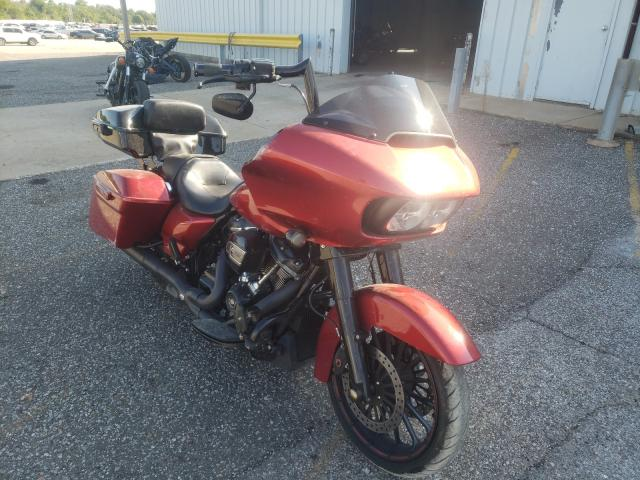 Salvage cars for sale from Copart Oklahoma City, OK: 2018 Harley-Davidson Fltrxs ROA