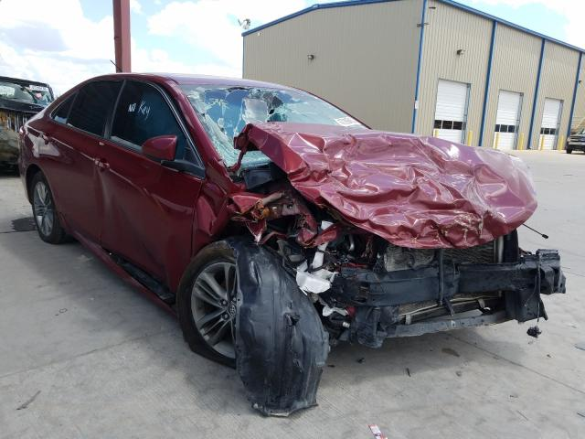 Salvage cars for sale from Copart Wilmer, TX: 2016 Toyota Camry LE