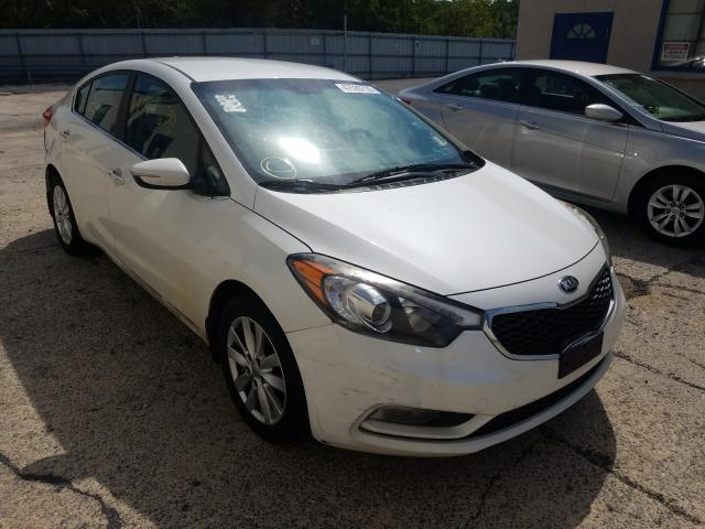 KIA Forte EX salvage cars for sale: 2014 KIA Forte EX