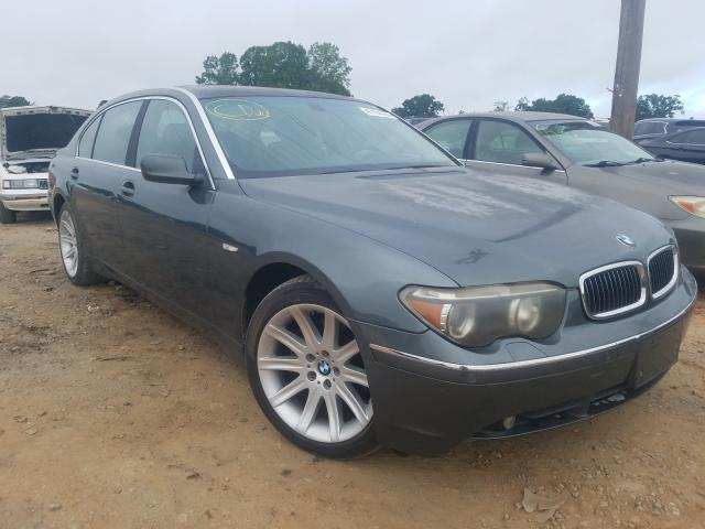 BMW salvage cars for sale: 2003 BMW 745 LI