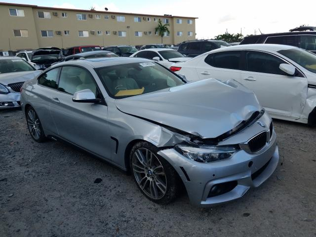 Salvage cars for sale from Copart Opa Locka, FL: 2016 BMW 428 I