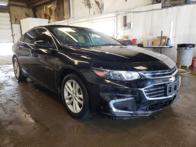 Salvage cars for sale from Copart Casper, WY: 2017 Chevrolet Malibu LT