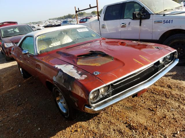 Salvage cars for sale from Copart Bridgeton, MO: 1970 Dodge Challenger