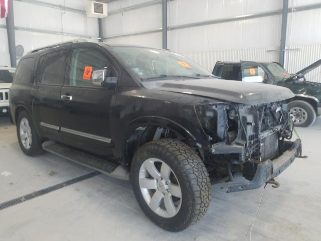 Salvage cars for sale from Copart Greenwood, NE: 2012 Nissan Armada SV