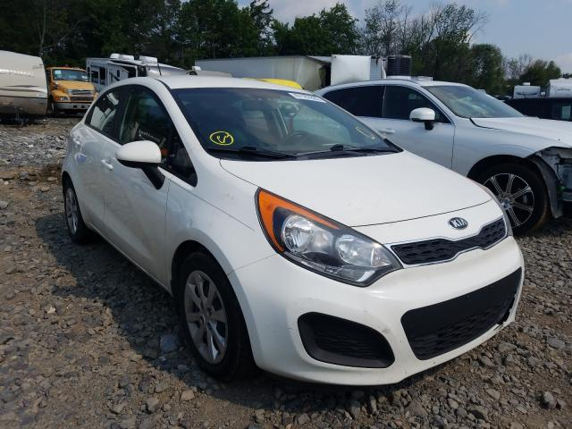 KIA Rio EX salvage cars for sale: 2014 KIA Rio EX