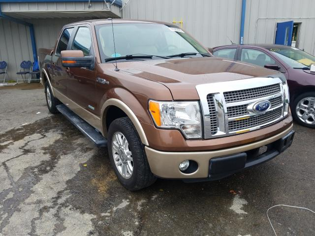 Salvage cars for sale from Copart Memphis, TN: 2012 Ford F150 Super