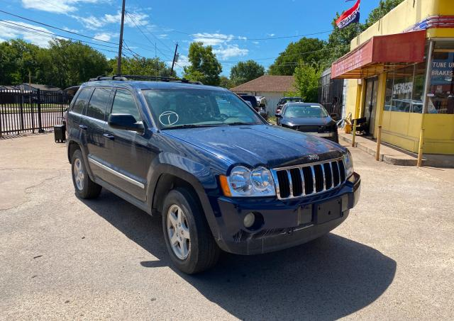 Salvage cars for sale from Copart Wilmer, TX: 2005 Jeep Grand Cherokee
