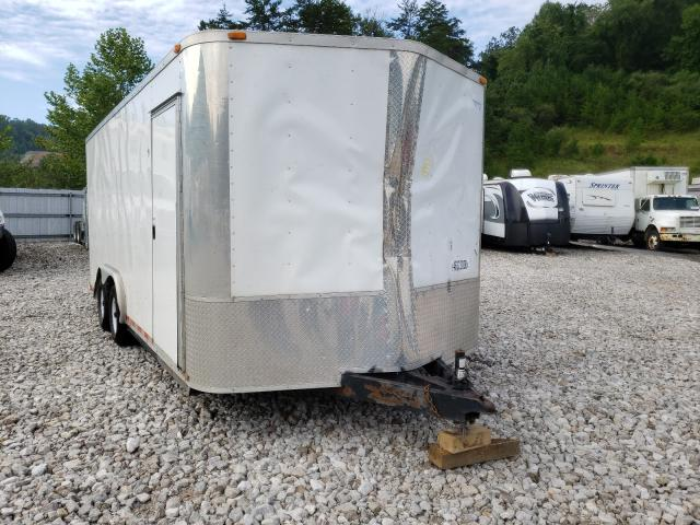 Trailers Trailer salvage cars for sale: 2016 Trailers Trailer