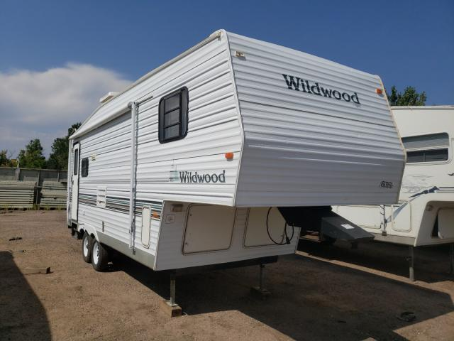 Wildcat salvage cars for sale: 2002 Wildcat 5THWH Camp
