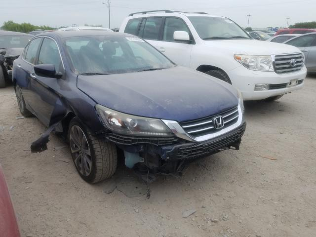 Salvage cars for sale from Copart Indianapolis, IN: 2013 Honda Accord Sport
