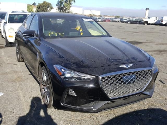 Genesis G70 Elite salvage cars for sale: 2019 Genesis G70 Elite