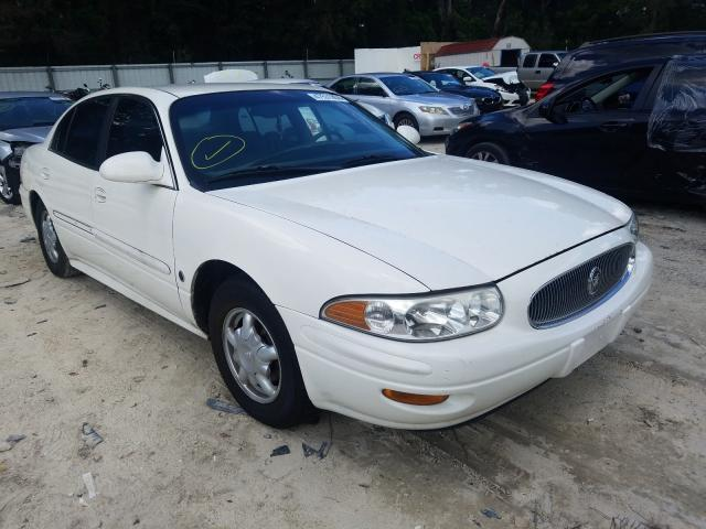 Salvage cars for sale from Copart Ocala, FL: 2001 Buick Lesabre CU