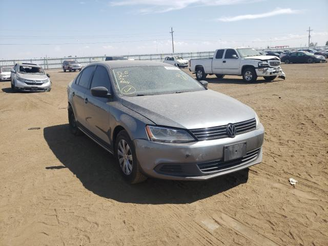 Salvage cars for sale from Copart Brighton, CO: 2014 Volkswagen Jetta Base