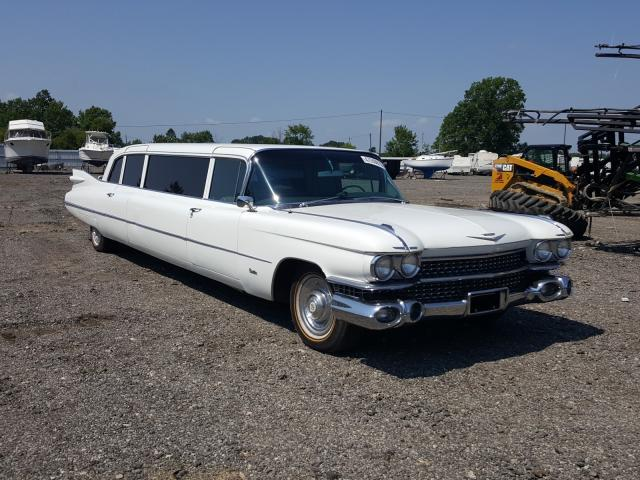 Cadillac salvage cars for sale: 1959 Cadillac Limousine