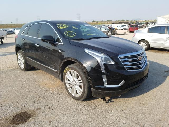 Cadillac XT5 salvage cars for sale: 2018 Cadillac XT5