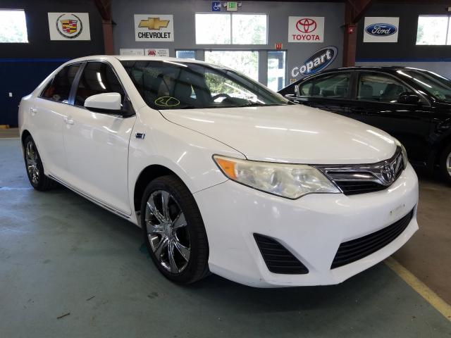 Salvage cars for sale from Copart East Granby, CT: 2012 Toyota Camry Base