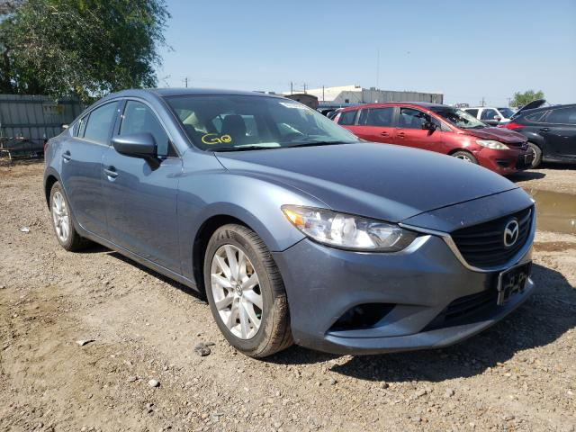 Mazda salvage cars for sale: 2016 Mazda 6 Sport