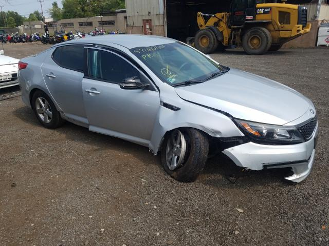 KIA Optima LX salvage cars for sale: 2015 KIA Optima LX