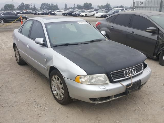 Salvage cars for sale from Copart San Martin, CA: 2001 Audi A4 1.8T Quattro