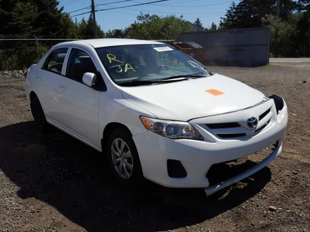 Salvage cars for sale from Copart Cow Bay, NS: 2013 Toyota Corolla BA