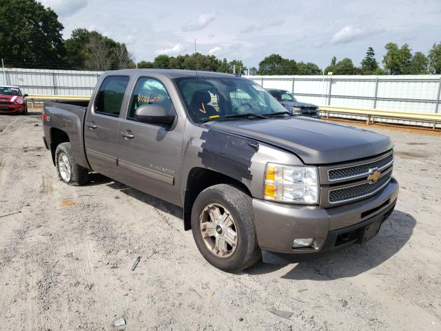 Salvage cars for sale from Copart Chatham, VA: 2012 Chevrolet Silverado