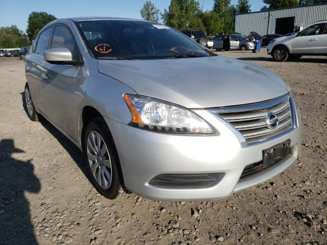 2013 NISSAN SENTRA S 1N4AB7APXDN903919