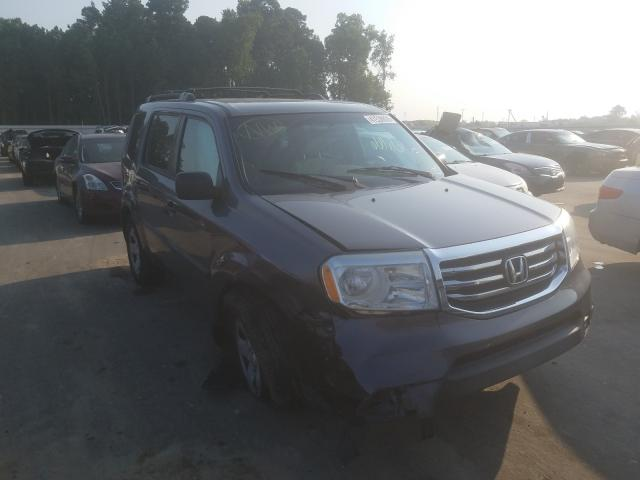 Honda Pilot salvage cars for sale: 2015 Honda Pilot
