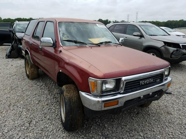 Salvage cars for sale from Copart Memphis, TN: 1990 Toyota 4runner VN