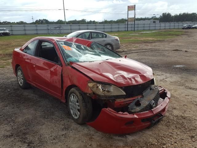 Salvage cars for sale from Copart Newton, AL: 2004 Honda Civic LX