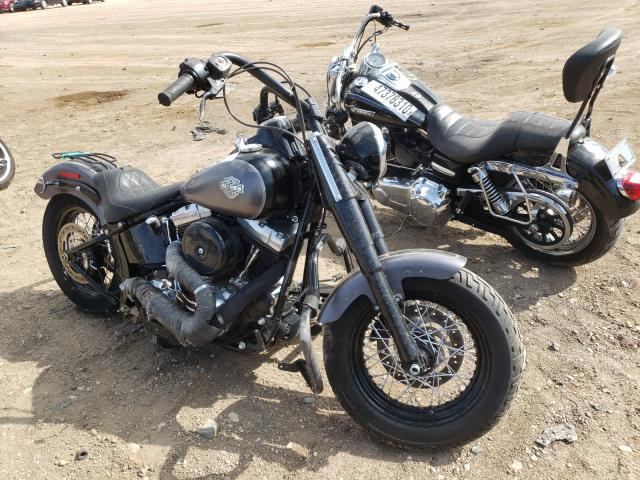 Salvage cars for sale from Copart Casper, WY: 2014 Harley-Davidson FLS Softai