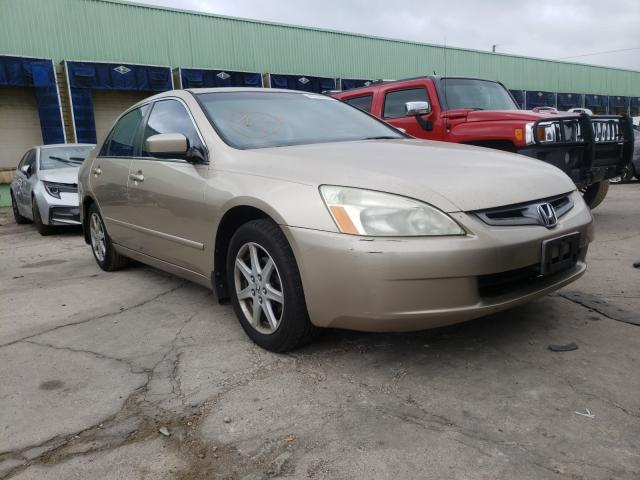 Salvage cars for sale from Copart Columbus, OH: 2004 Honda Accord EX