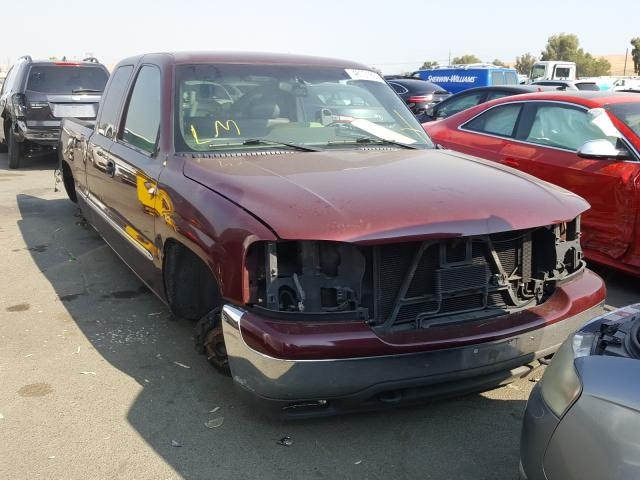 Salvage cars for sale from Copart Martinez, CA: 2002 GMC New Sierra