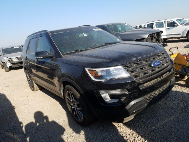 Salvage cars for sale from Copart Brighton, CO: 2017 Ford Explorer S
