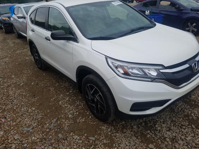 Salvage cars for sale from Copart Memphis, TN: 2016 Honda CR-V SE