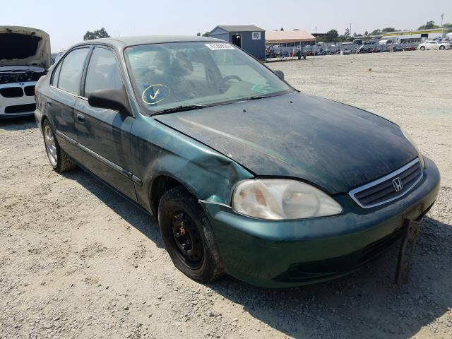 Honda Civic Base salvage cars for sale: 2000 Honda Civic Base