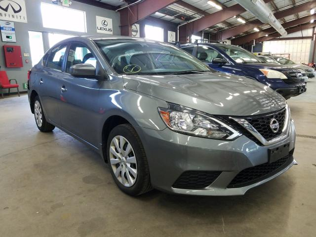 Salvage cars for sale from Copart East Granby, CT: 2017 Nissan Sentra S