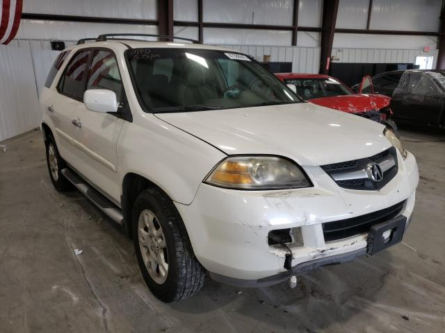 Salvage cars for sale from Copart Byron, GA: 2004 Acura MDX Touring