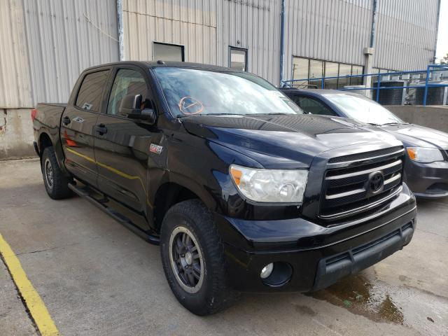 Salvage cars for sale from Copart Lawrenceburg, KY: 2011 Toyota Tundra CRE
