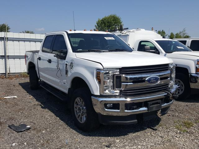 Vehiculos salvage en venta de Copart Columbia Station, OH: 2019 Ford F350 Super