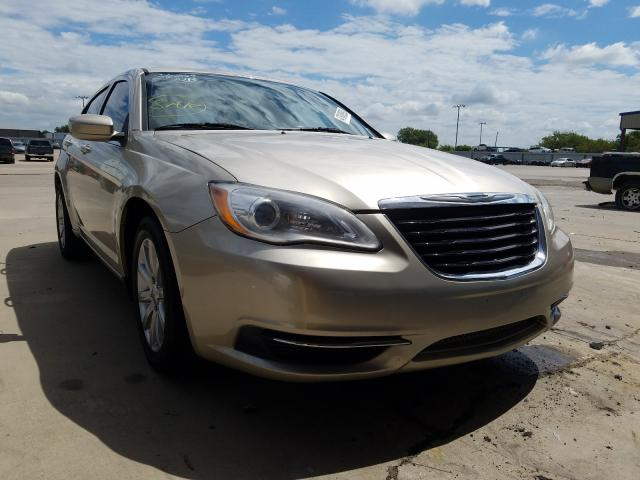 Salvage cars for sale from Copart Wilmer, TX: 2013 Chrysler 200 Touring