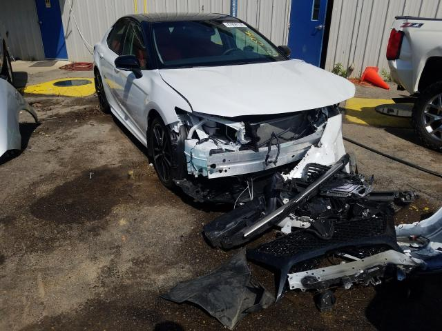 Salvage cars for sale from Copart Memphis, TN: 2018 Toyota Camry XSE