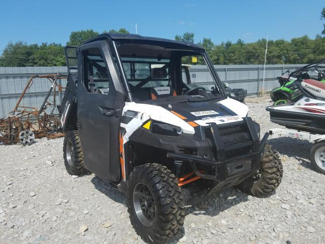Salvage cars for sale from Copart Des Moines, IA: 2015 Polaris Ranger XP