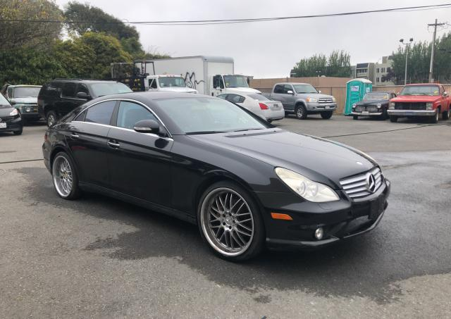 Salvage cars for sale from Copart Hayward, CA: 2006 Mercedes-Benz CLS 500C