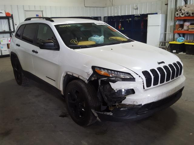 Jeep Cherokee S salvage cars for sale: 2017 Jeep Cherokee S