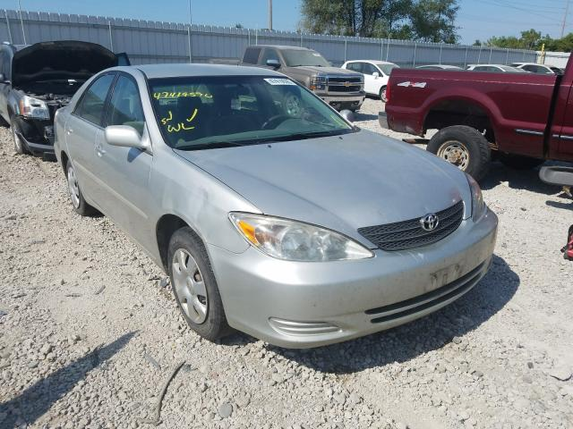 Salvage cars for sale from Copart Des Moines, IA: 2002 Toyota Camry LE