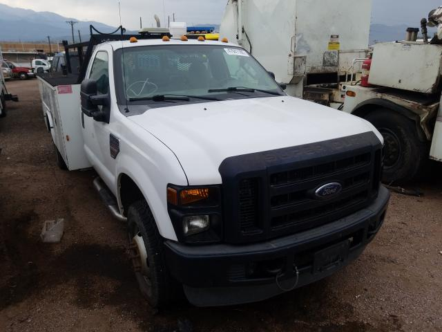 Salvage cars for sale from Copart Colorado Springs, CO: 2008 Ford F350 Super