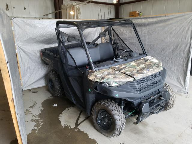 Salvage cars for sale from Copart Duryea, PA: 2020 Polaris Ranger 100