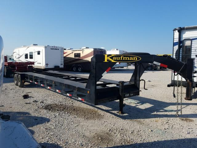 Salvage cars for sale from Copart Haslet, TX: 2020 Kaufman Gooseneck