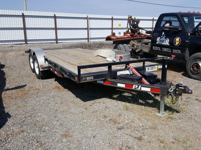 PJ salvage cars for sale: 2016 PJ Flatbed