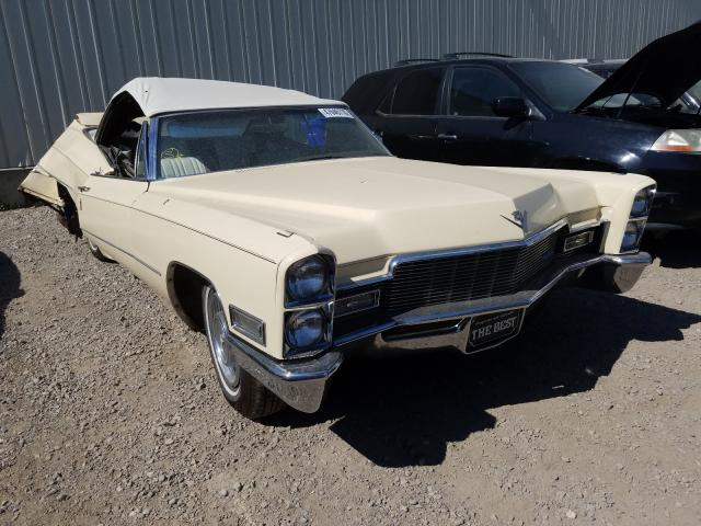 Salvage cars for sale from Copart Rocky View County, AB: 1968 Cadillac Deville